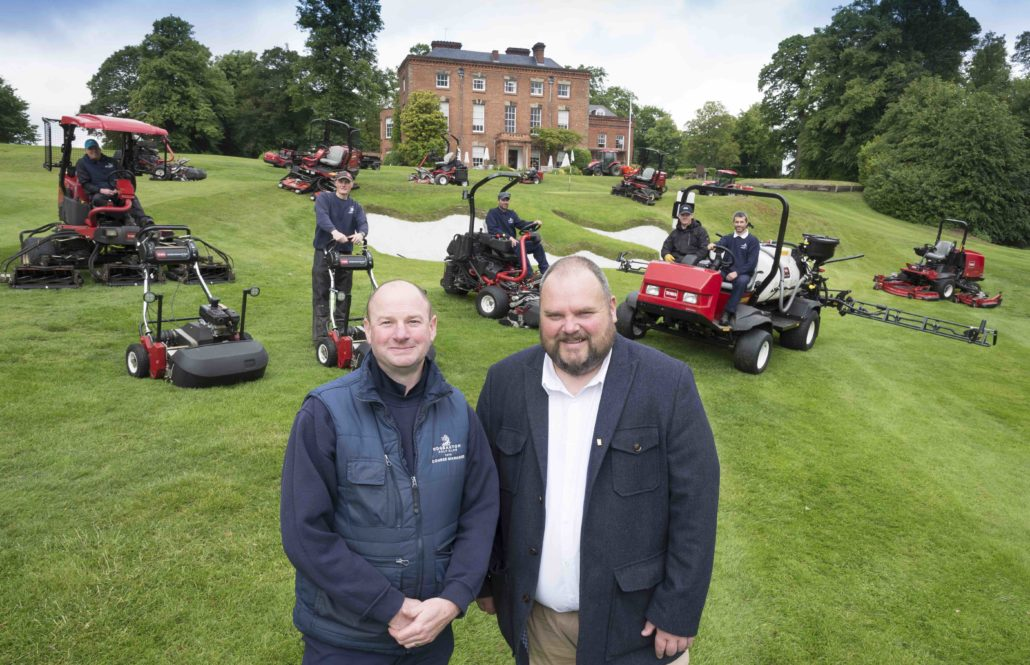 Edgbaston GC Extend Toro Link