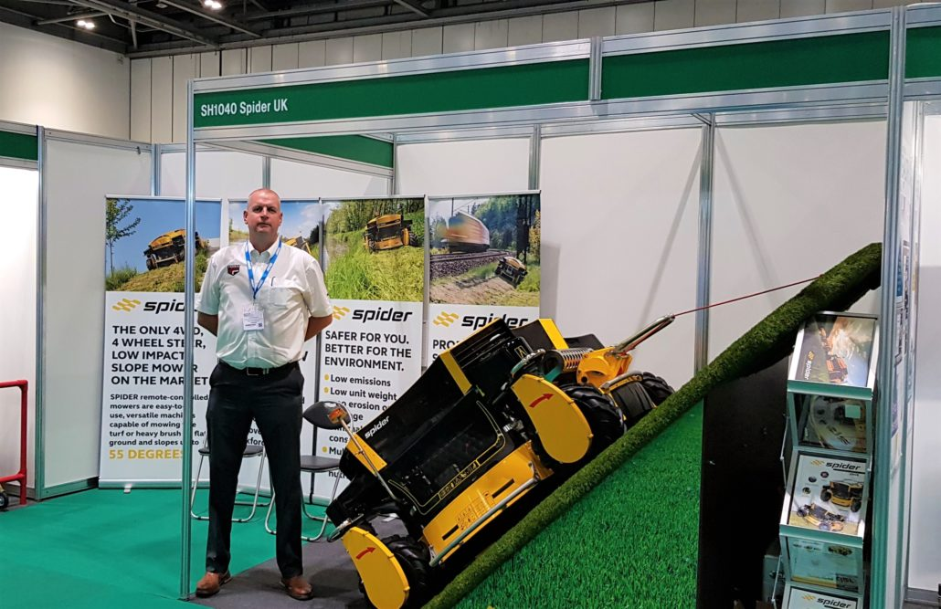 Spider Showcased At Safety Expo