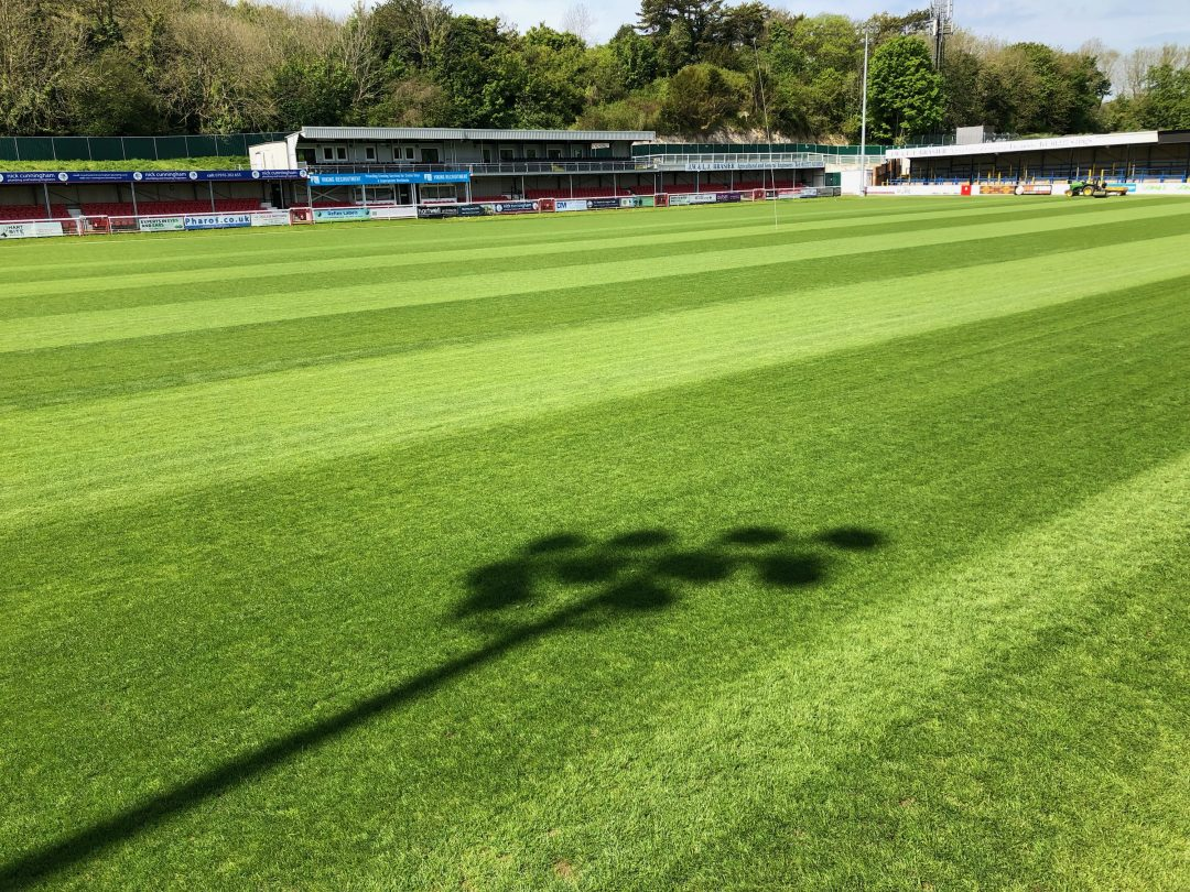 Dover's Pitch Makeover