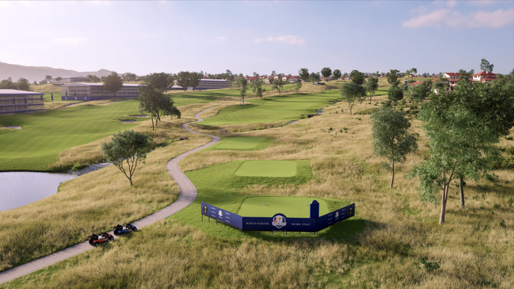 Capillary Concrete & EcoBunker At Ryder Cup Venue