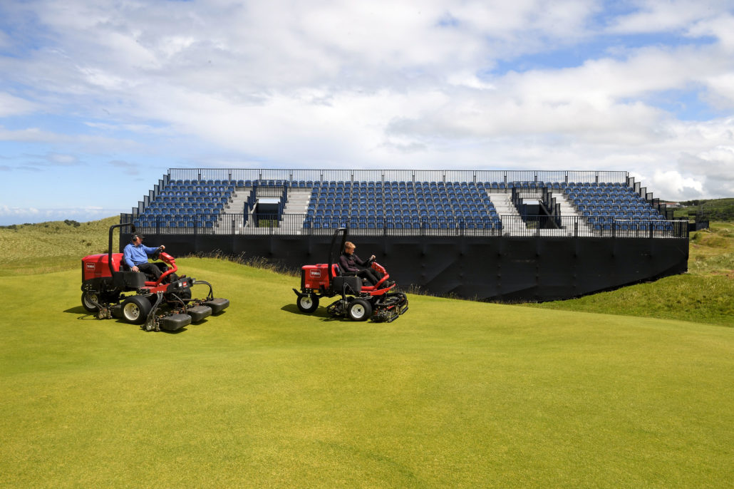 Royal Portrush Prepare With Toro