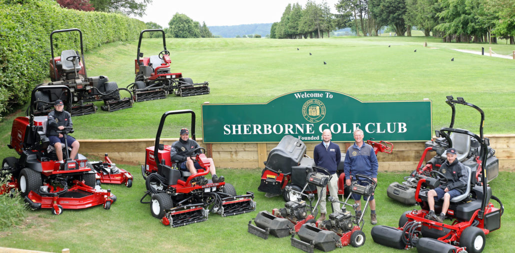 Toro Update At Sherborne GC
