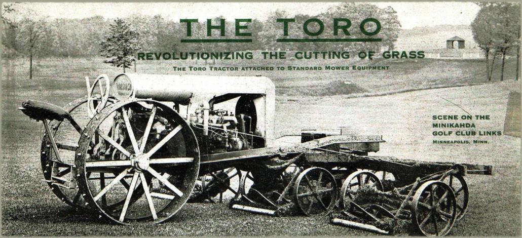 Toro's 100 Years In Golf
