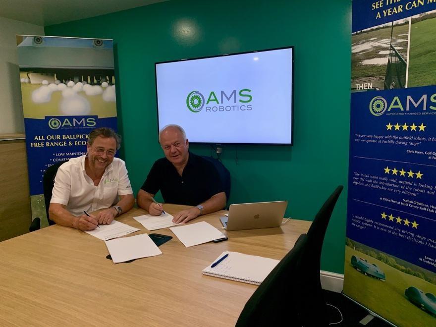 AMS Renew Belrobotics Agreement
