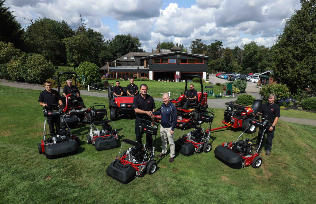 Toro On Board At Chigwell GC
