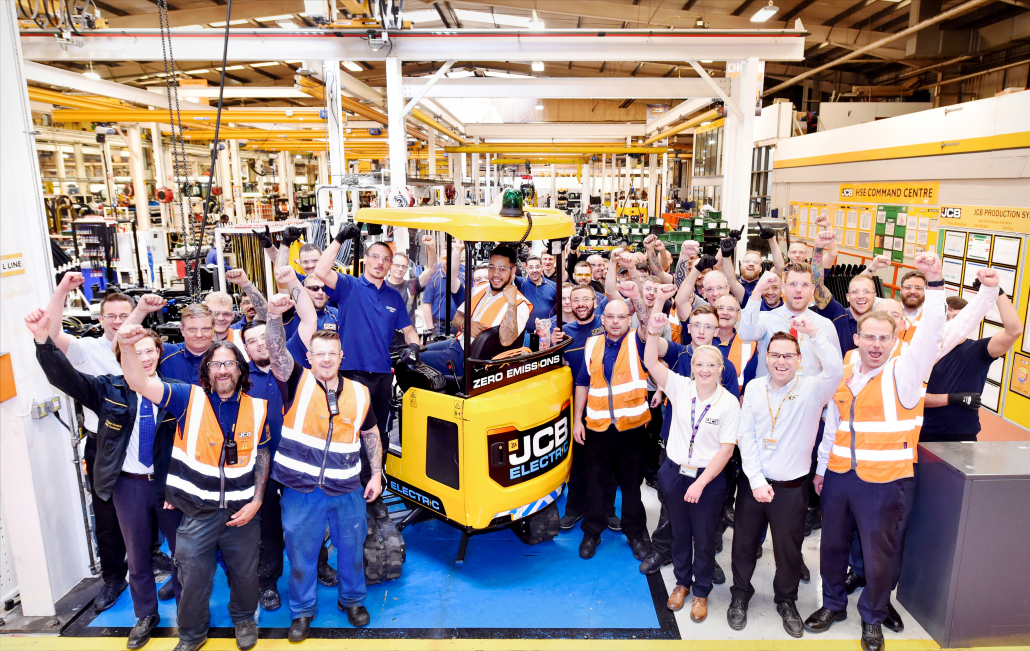 JCB Diggers In Full Production