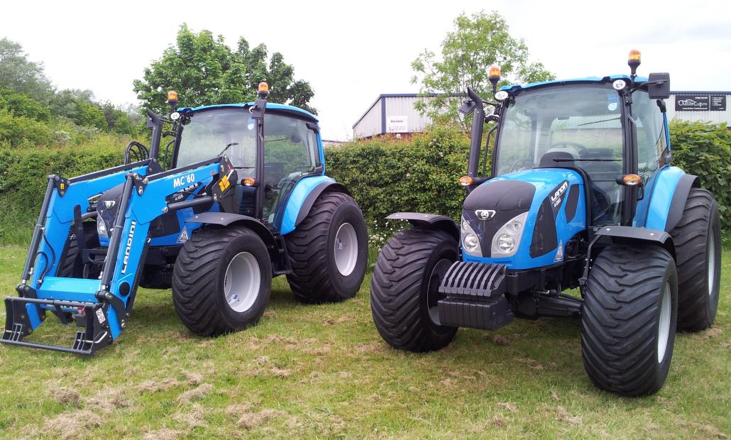 Landini Tractors Back At SALTEX
