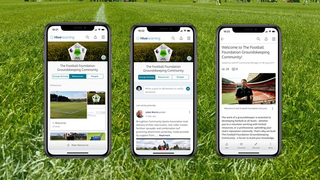 New App For Groundsmen
