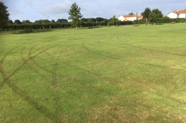 Cricket Club Slams Vandals