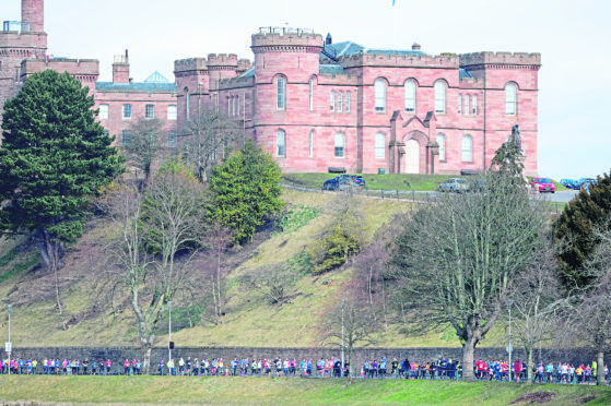 £40,000 Mower At Inverness Castle