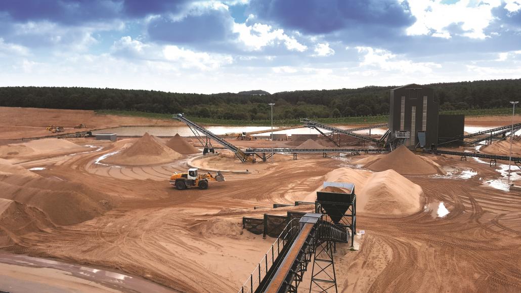 Mansfield Sand's Innovative Range At SALTEX