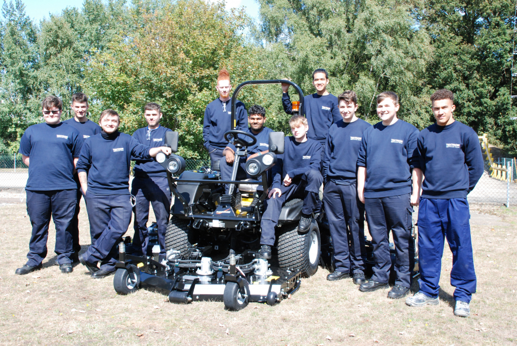 Ransomes Jacobsen's New Apprentices