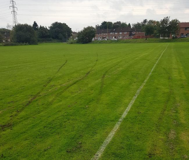 Volunteers 'Disheartened' After Pitch Vandalism