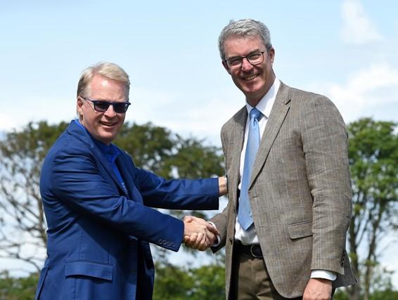 European Tour & Toro Renew Partnership