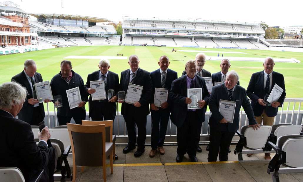 Cricket Groundcare Award Winners