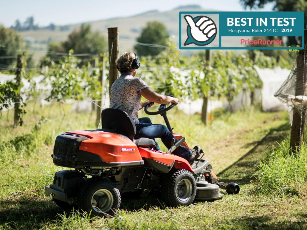 Husqvarna Rider receives Best in Test