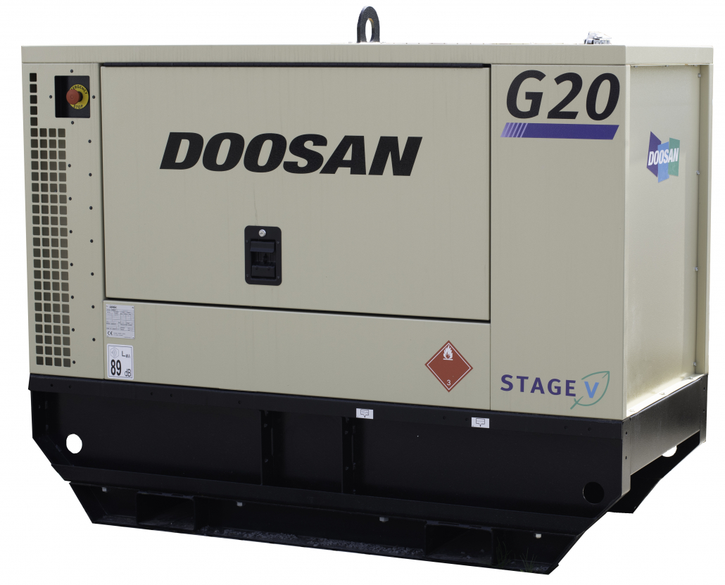 New G20 Stage V Generator from Doosan