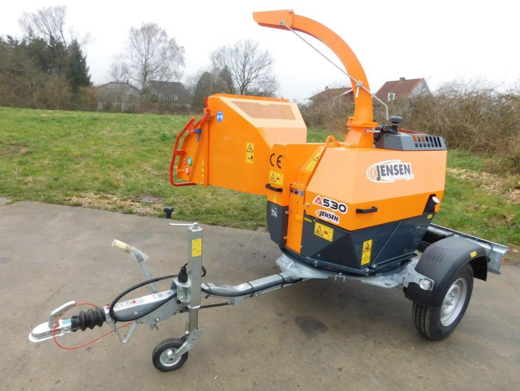 "First 6"" turntable chipper from Jensen"