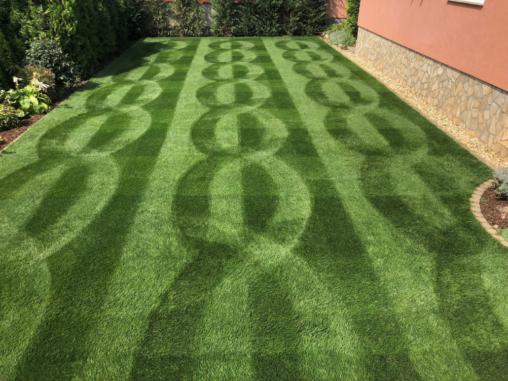 Allett's Creative Lawn Stripe Winner