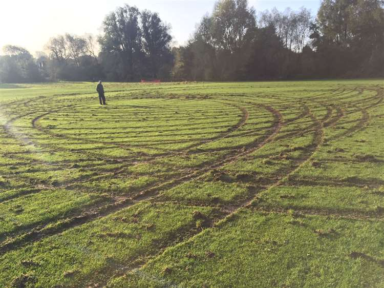 Games cancelled after pitch vandalism