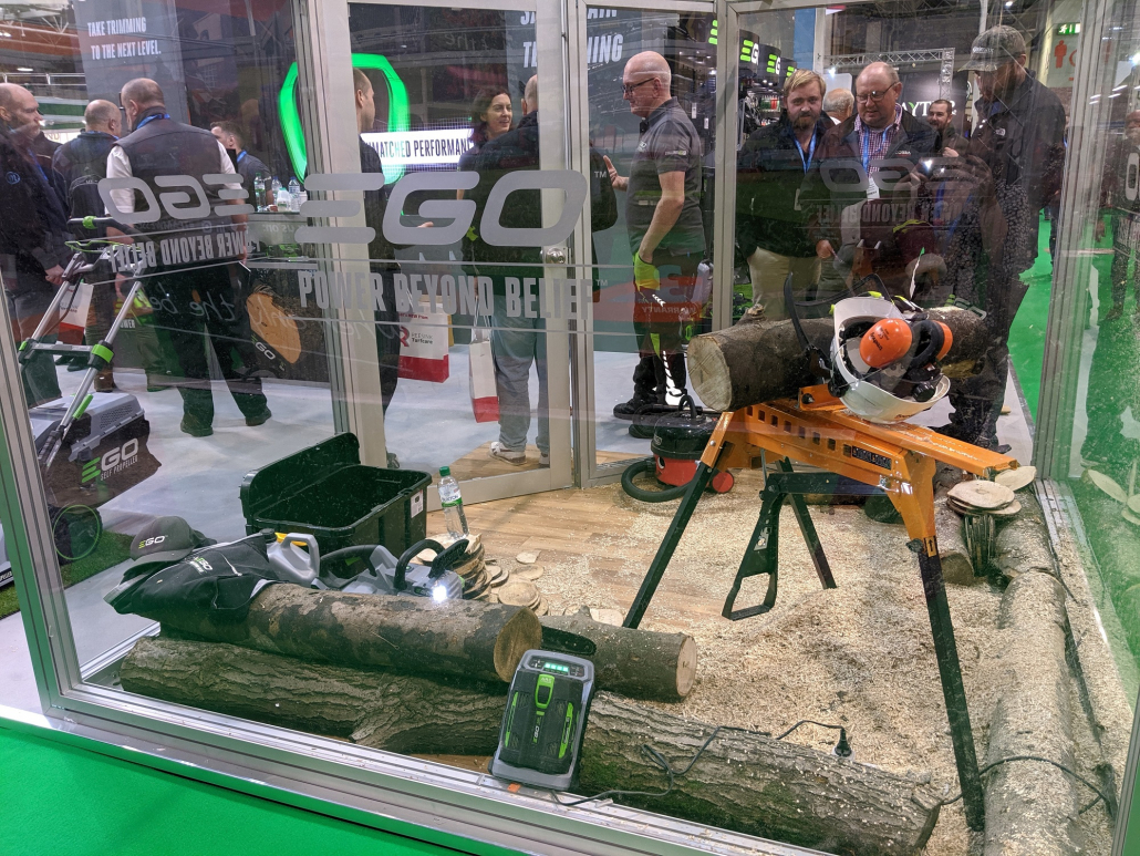 EGO saws to the top at SALTEX