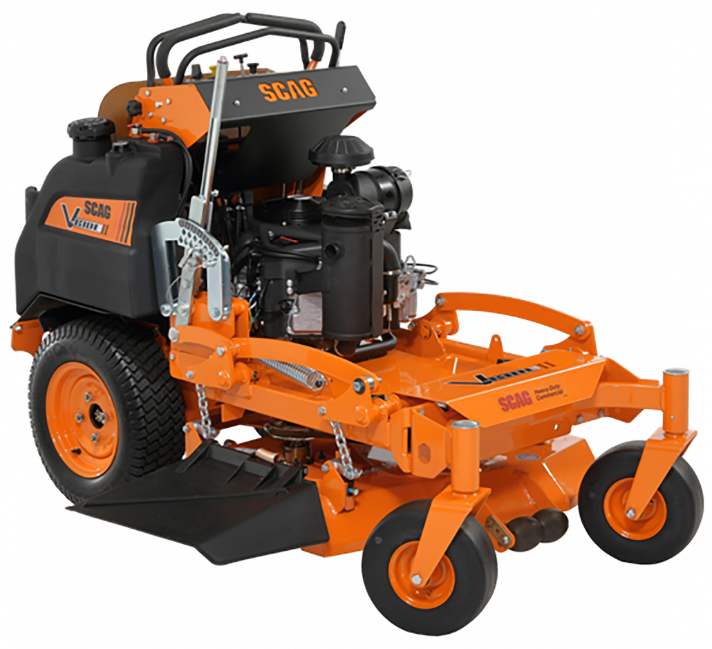 New addition to the SCAG Stand-on mower range