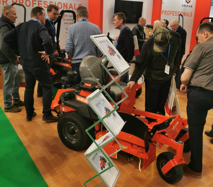 Big turn out for Ariens at SALTEX