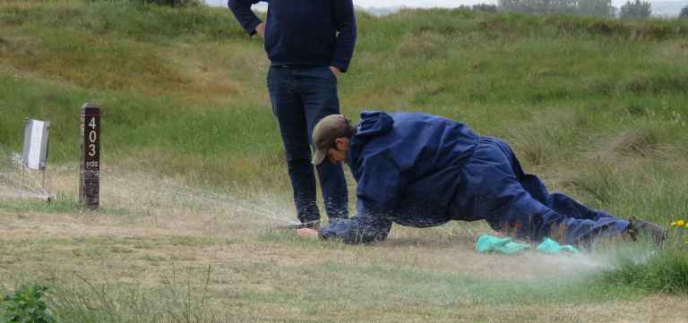 Greenkeepers reveal greatest annoyances