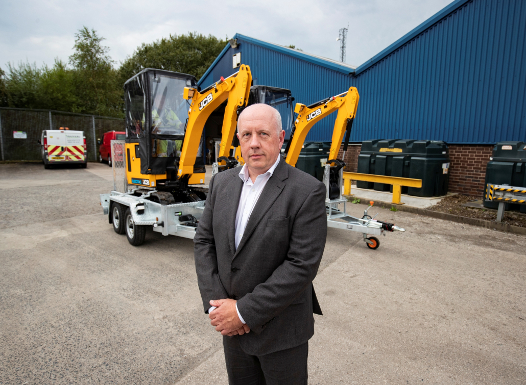 Power provider invests in JCB diggers