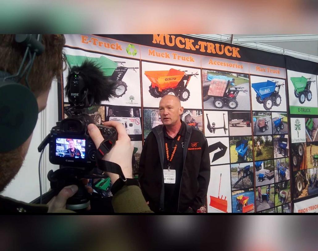 SALTEX success for Muck-Truck