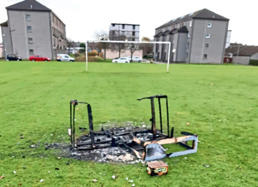 Plea for help after vandal attack
