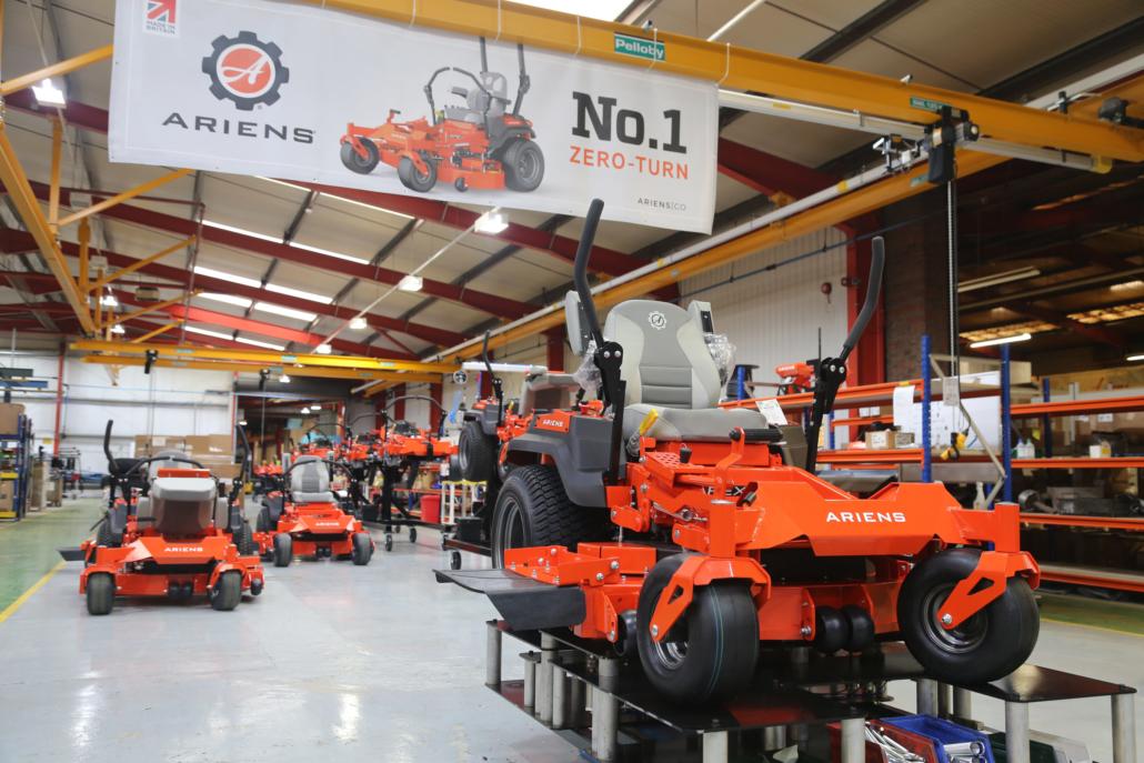 First European zero-turn mower built in Oxfordshire