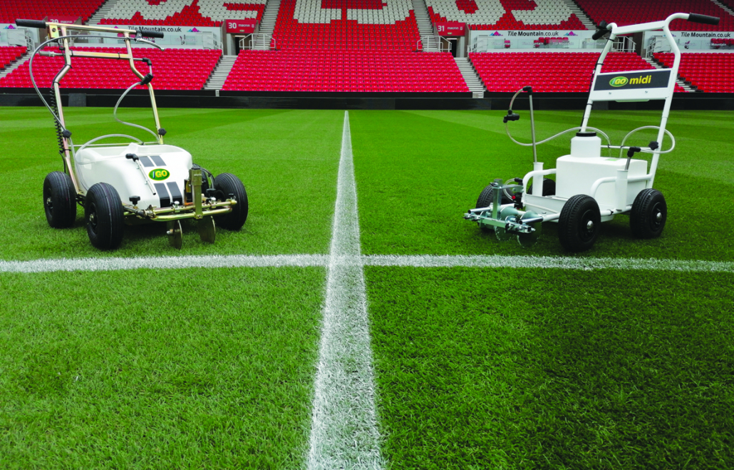 Top marks for new line markers