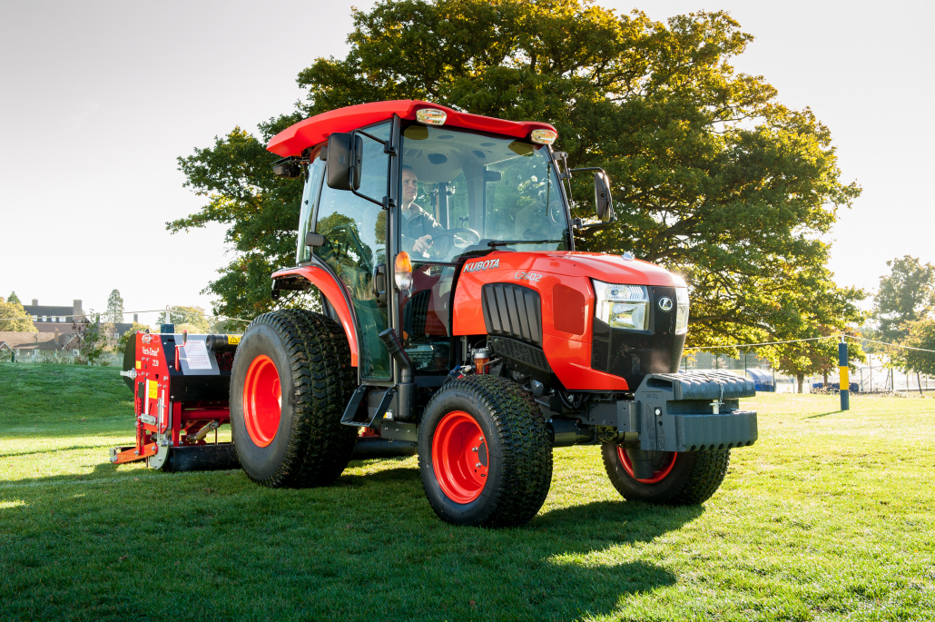 Kubota return to BTME