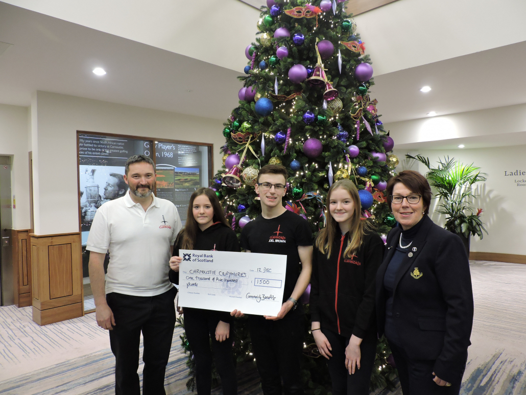 Carnoustie give back to local community