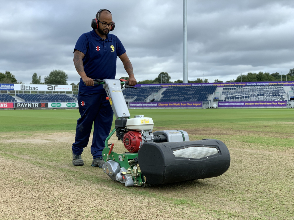 Razor Ultra Demain mower at Durham