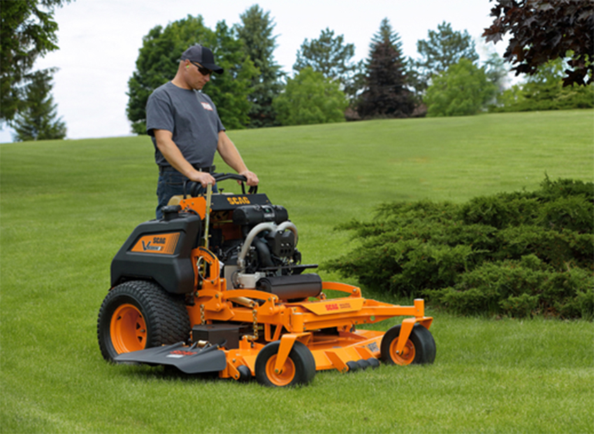 New SCAG stand-on mower