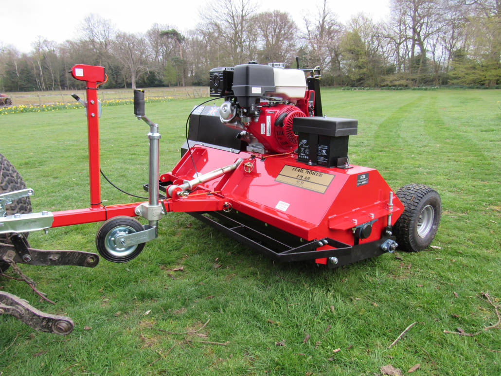 FM48 Flail Mower redesigned