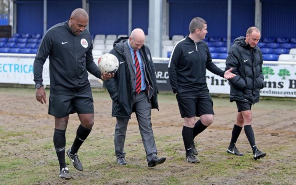 Billericay striving to improve surface