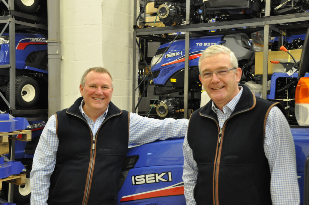 Alan Prickett joins ISEKI UK