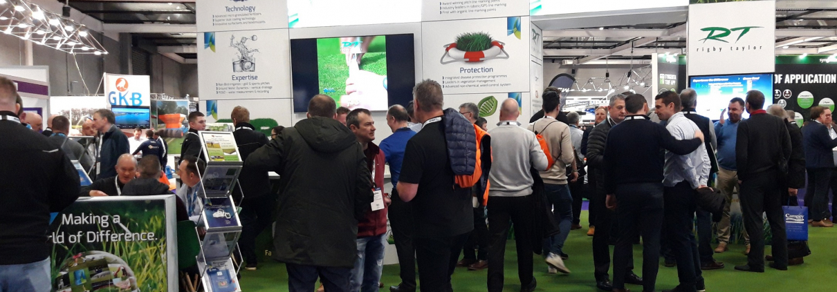 Rigby taylor stand buzzing at the recent BTME exhibition