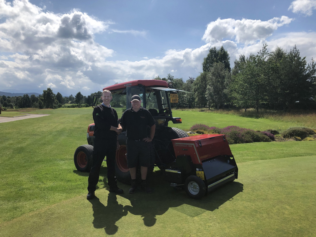 SpeedSeed 1100 completes fairway recovery