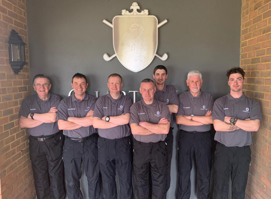Expanded greenkeeper team at Chart Hills