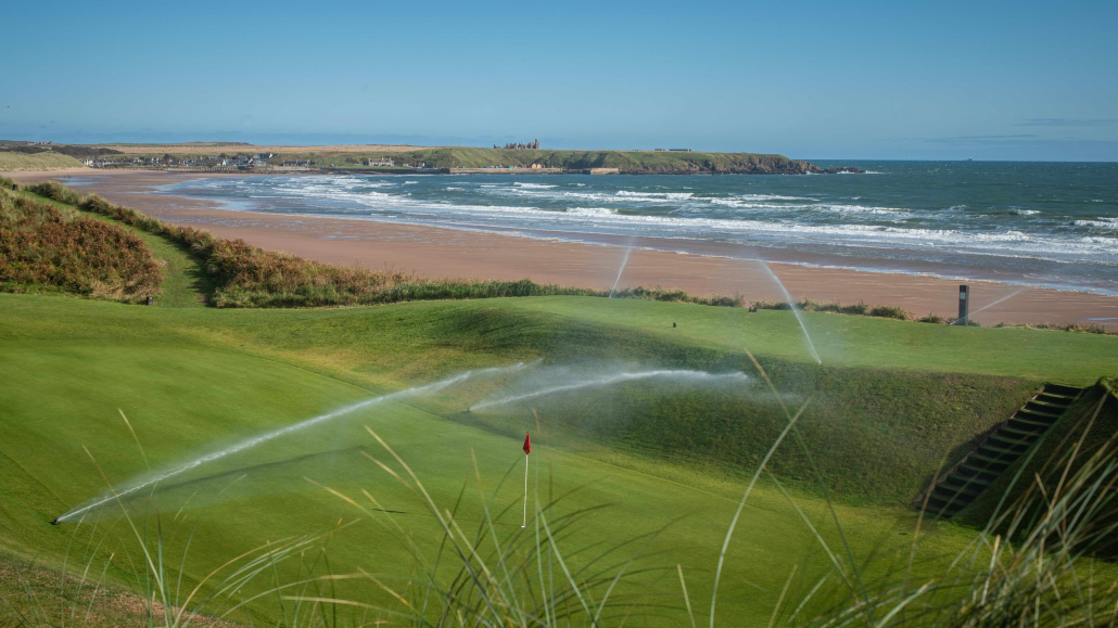 Three phase solution for Cruden Bay