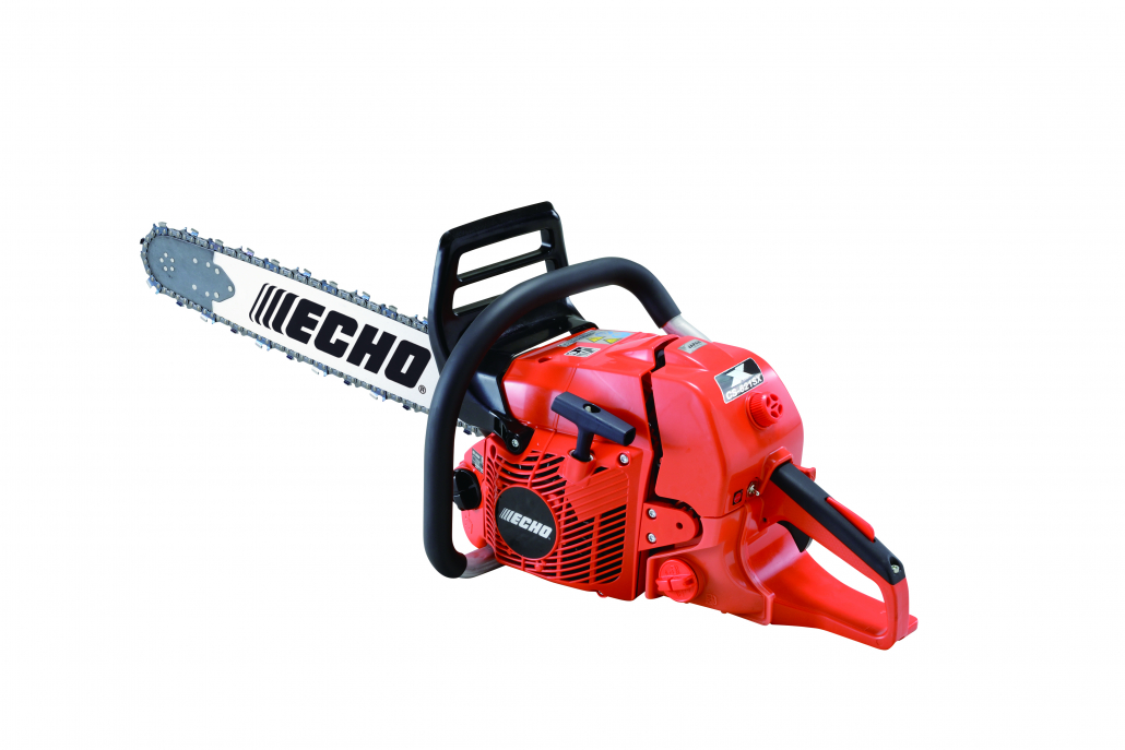ECHO's new low emission chainsaw