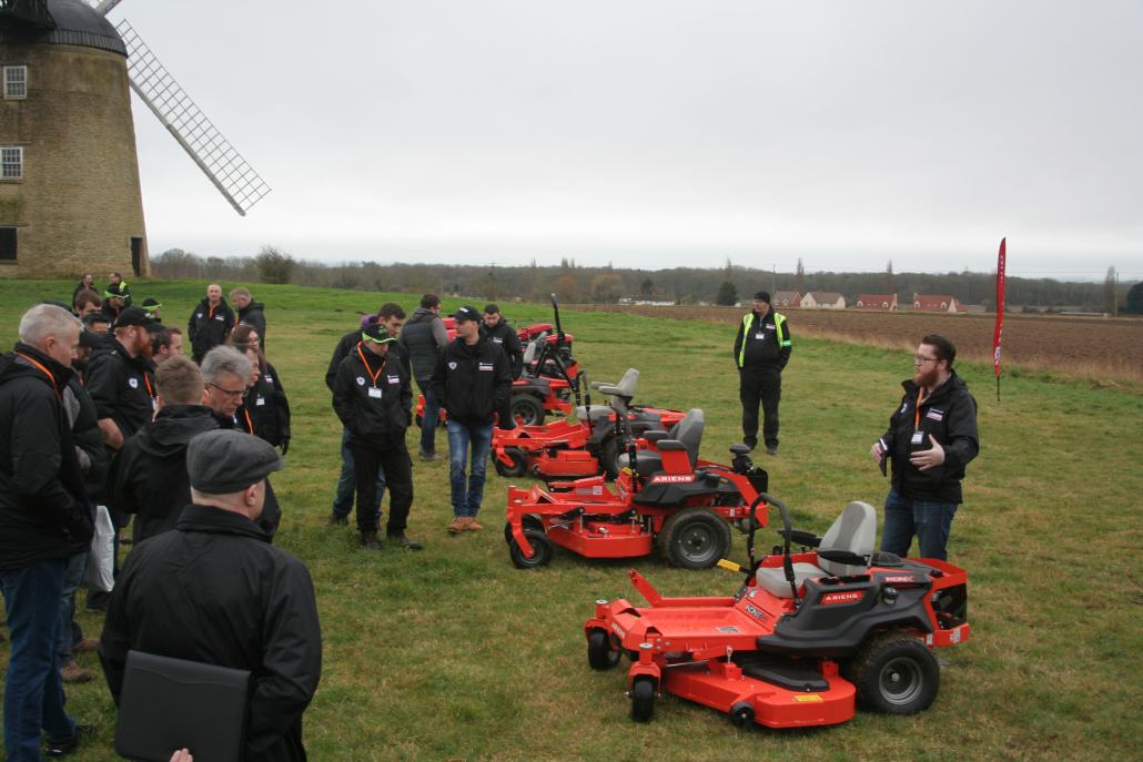 AriensCo meet Lawn Care Legends