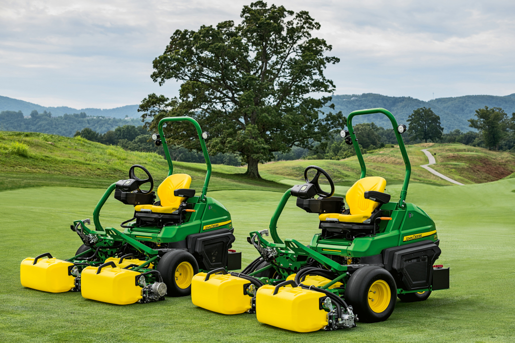 Award for new John Deere mowers