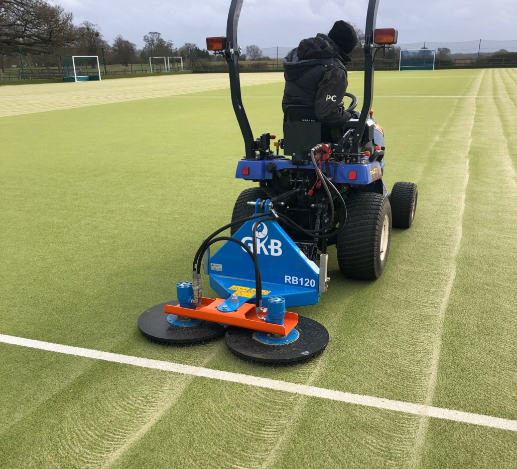 Witham Hall invests in a Rotobrush