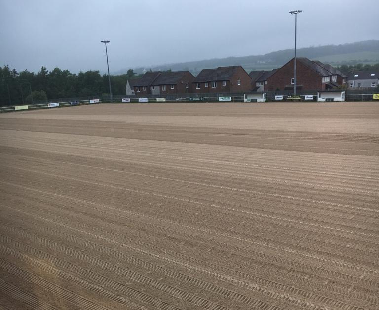 New drainage at Cleator Moor