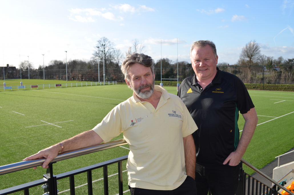 Rigby Taylor at Grasshoppers RFC